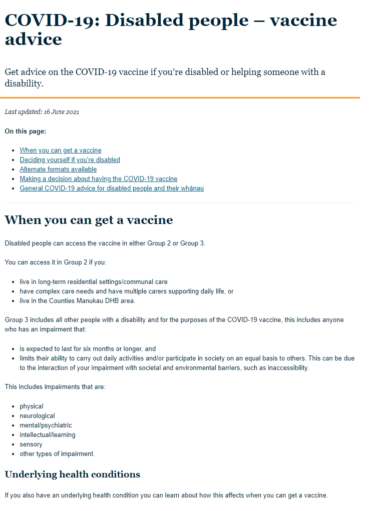 MOH website